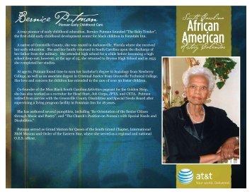 Download - South Carolina African American History Calendar