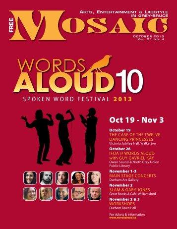 OCTOBER 2013 Vol. 21 No. 4 - Mosaic