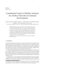 Coordinated Control of Mobile Antennas for Ad-Hoc Networks in ...