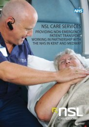 Patient Information Leaflet - NSL Care Services