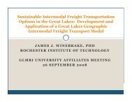 Sustainable Intermodal Freight Transportation Options in the Great ...