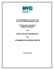 LIMITED SURVEY RIGHT OF WAY BIOSWALES ... - NYCEDC