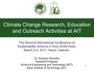 Sustainable Development in the Context of Climate Change