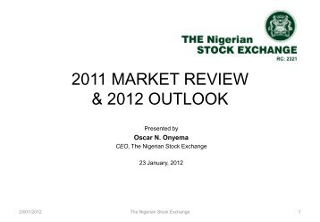 the nigerian stock exchange 2011 market review and 2012 outlook