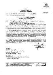 Yazı ve Onay - mersin il millî eğitim müdürlüğü