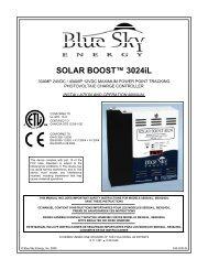 SOLAR BOOST™ 3024iL - Amazon S3
