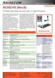 RC552-FE (Rev.B) - Unicor SA