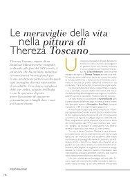 Le Meraviglie della Vita nella Pittura di Thereza Toscano