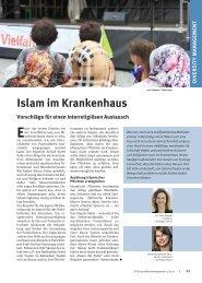 Islam im Krankenhaus. Vorschläge für einen ... - Synergy Consult