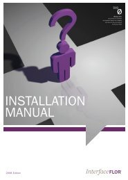 INSTALLATION MANUAL - Interface