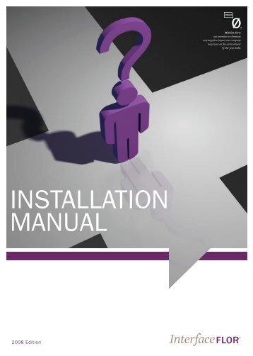 INSTALLATION MANUAL - Interface