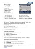 OPERATION AND MAINTENANCE INSTRUCTIONS - Desmi - Page 4