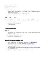 Examensarbeiten und studentische Tätigkeit für die perbit Software ...