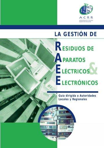 La gestión de RAEE - Resourcities