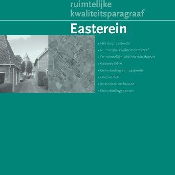 Ruimtelijke kwaliteitsparagraaf - Easterein