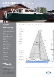 ATLANTIC 46 Pilothouse - manager