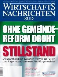 Ausgabe 10/2013 Wirtschaftsnachrichten Süd