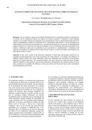 análisis numérico de ensayos de tracción dinámica sobre ...