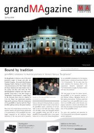 Bound by tradition - MA Lighting