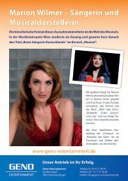 PDF-Dokument - Geno Entertainment