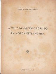 A Cruz da Ordem de Cristo em Moeda Estrangeira ... - Numismatas