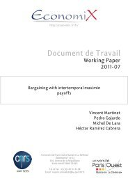 Document de Travail - DIM - Universidad de Chile