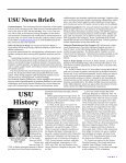 USU Newsletter - Uniformed Services University of the Health ... - Page 7