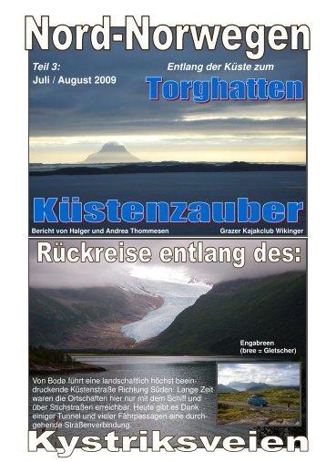 Teil 3: Entlang der Küste zum Juli / August 2009 - Nautiraid