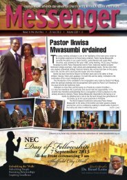 Messenger 2013 - Edition 15 - Seventh-day Adventist Church in the ...