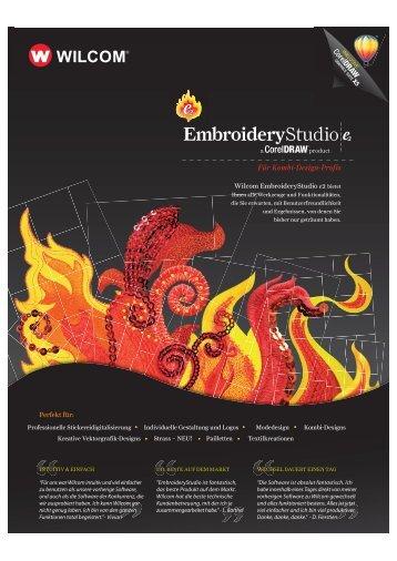EmbroideryStudio - Sticksoftware.DE