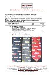 ANGEBOT Krawatte Tuch Bus HAU11 - Ask Ullmann