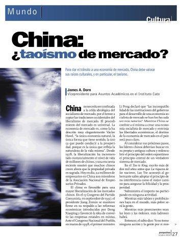 ¿taoísmo ¿ de mercado? taoísmo - Revista Perspectiva