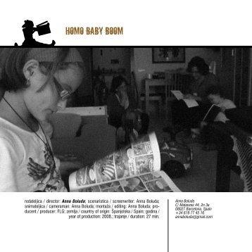 HOMO BABY BOOM - mediteran film festival