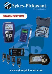 DIAGNOSTICS - Saracen Distribution