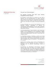 Kooperation centrovital & Altstadthafen Spandau - Über ...