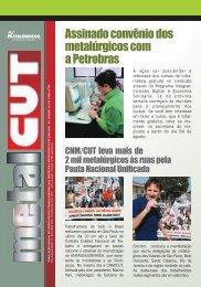 Boletim Metalcut Julho - Metalurgicos - 16-07-2008 - CNM/CUT
