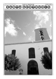 14 portada sta. gertrudis - Diario de Ibiza