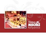 Partyservice - Fleischerei Mischke