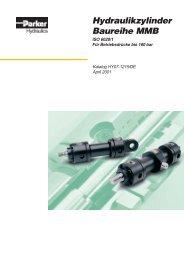 Hydraulikzylinder Baureihe MMB - Siebert Hydraulik & Pneumatik