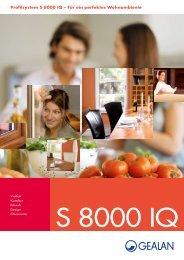 Profilsystem S 8000 IQ – Für ein perfektes Wohnambiente