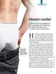 Hosen runter - Proktologische Praxis Freiburg