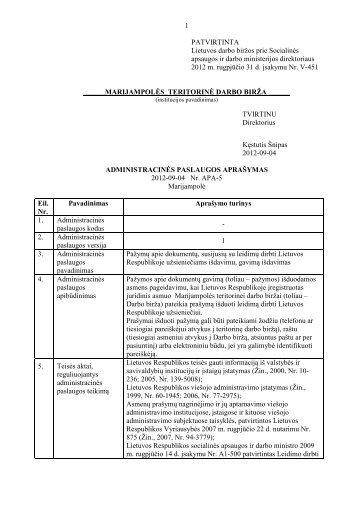 APA5 - Lietuvos darbo birža