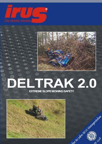 Deltrak Product Brochure - Macarthur Mowers & Marine