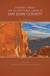 San Juan County Public Lands - Charles Redd Center - Brigham ...
