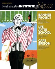 download this PDF to your hard drive. - New Hampshire Institute of Art