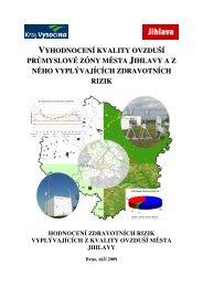 Hodnocení zdravotních rizik vyplývajících z kvality ovzduší města