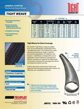Tight Weave Spec