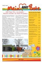 Ausgabe 1/2013 - AWO-Müritz