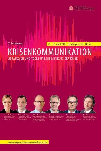 Download PDF - Tagung Krisenkommunikation de
