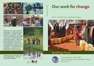 Building Peace - Peaceworkafrica